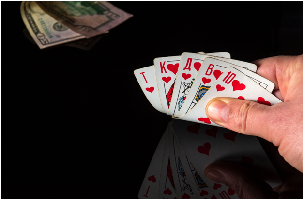 What should be factored into the decision to fold a poker hand?